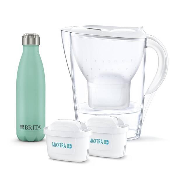 Filtrácia vody Brita Marella 2,4 l + 2x filtr + termoláhev