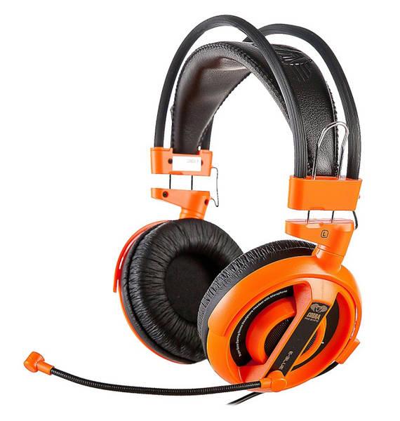 Headset E-Blue Cobra I (EHS013OG) oranžový