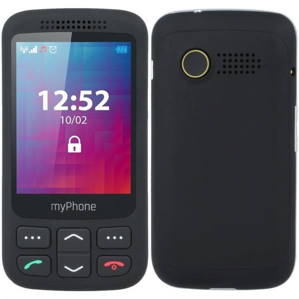Mobilní telefon myPhone Halo S Senior (TELMYSHALOSBK) černý