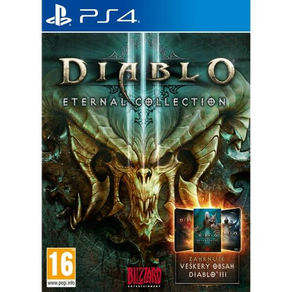 Hra Blizzard PlayStation 4 Diablo III Eternal Collection (CEP414103)