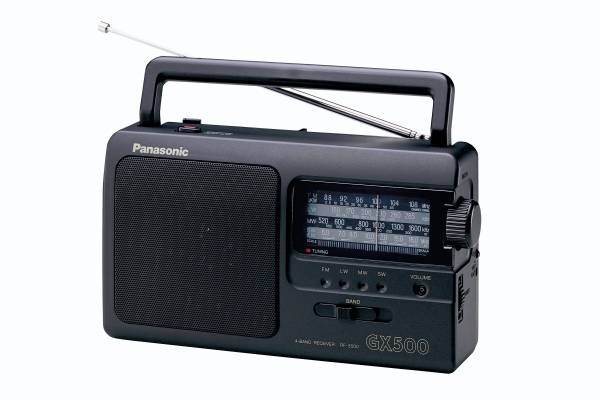Radiopřijímač Panasonic RF-3500E9-K (vrácené zboží 8800292246)