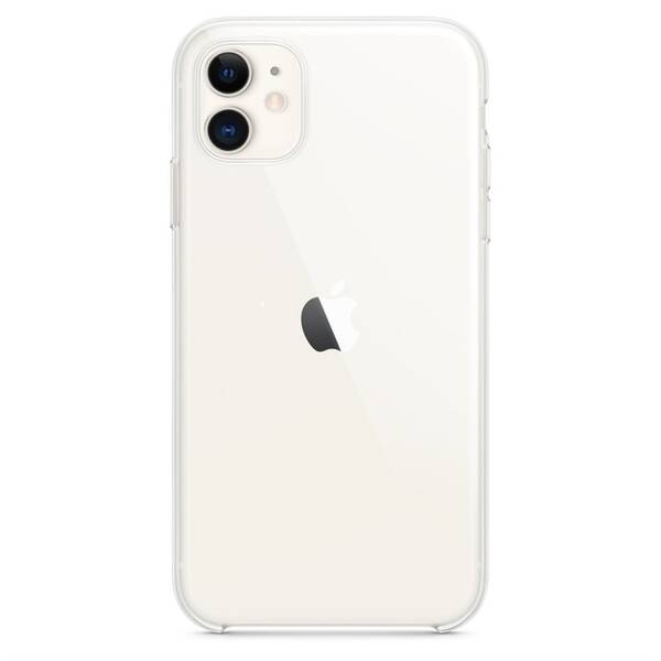 Kryt na mobil Apple Clear Case pro iPhone 11 (MWVG2ZM/A) průhledný