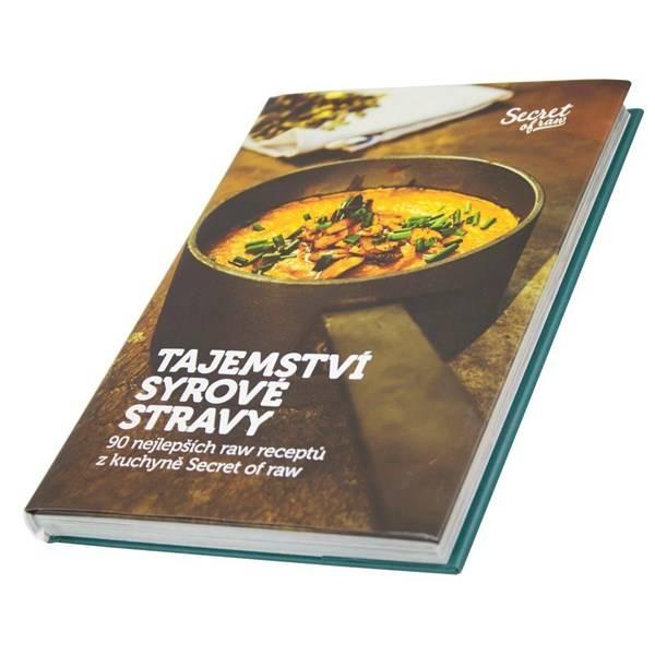 Příslušenství k robotům G21 Kniha Secret of Raw Tajemství syrové stravy