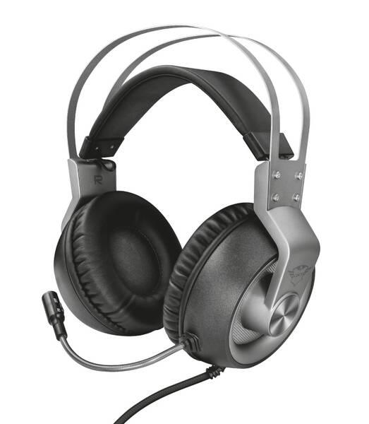 Headset Trust GXT 430 Ironn (23209) černý