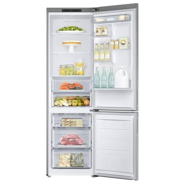 Chladnička s mrazničkou Samsung RB37J500MSA/EF nerez