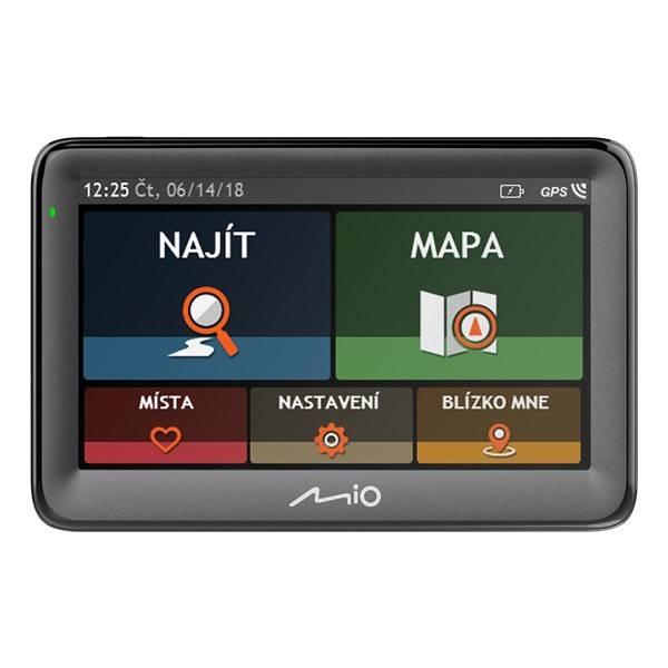 Navigační systém GPS Mio Pilot 15 LM 45 EU černá (vrácené zboží 8800281072)