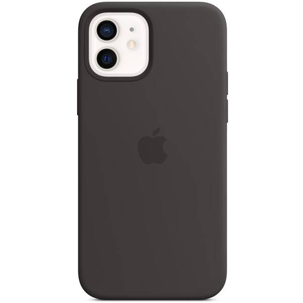 Kryt na mobil Apple Silicone Case s MagSafe pre iPhone 12 a 12 Pro - čierny (MHL73ZM/A)