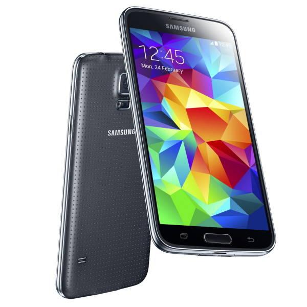 Mobilní telefon Samsung Galaxy S5 (SM-G900) - Charcoal Black (SM-G900FZKAETL) černý