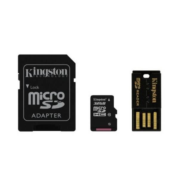 Paměťová karta Kingston Mobility Kit 32GB UHS-I U1 (30R/10W) (MBLY10G2/32GB)