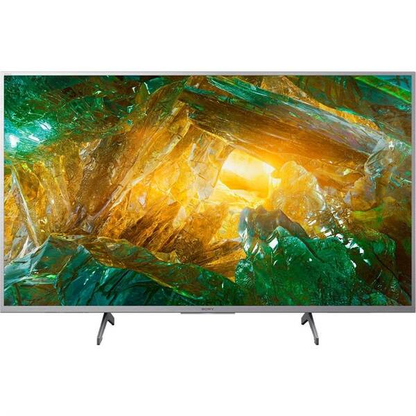 Televize Sony KD-43XH8077 stříbrná