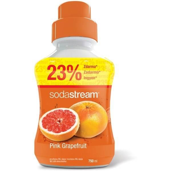 Příchuť pro perlivou vodu SodaStream Pink Grapefruit 750ml