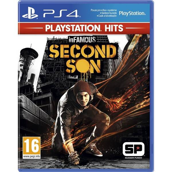 Hra Sony PlayStation 4 inFamous Second Son (PS719701415)