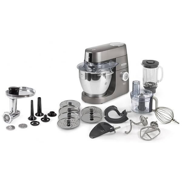Kuchynský robot KENWOOD Chef XL Titanium KVL8400S sivý