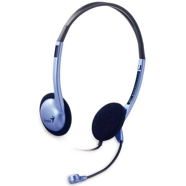 Headset Genius HS-02B (31710037100) stříbrný