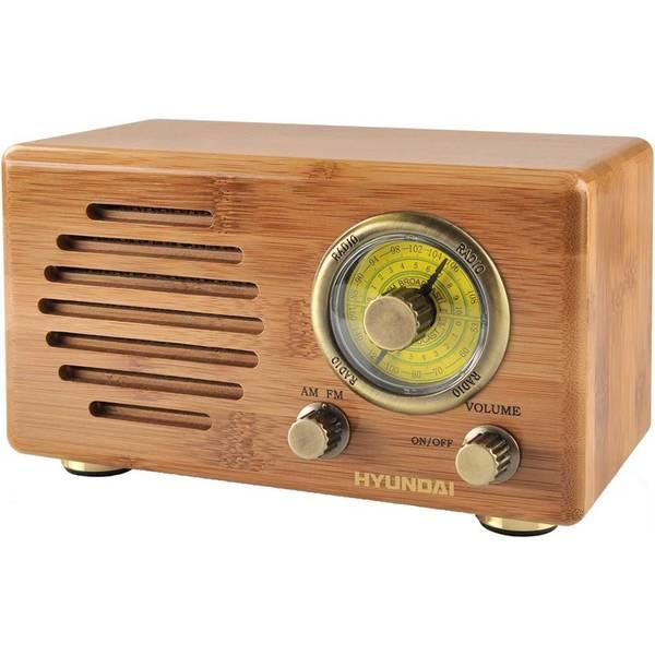 Rádioprijímač Hyundai Retro RA 410B drevený