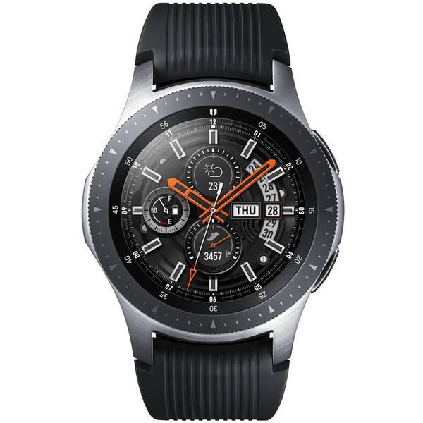 Chytré hodinky Samsung Galaxy Watch 46mm LTE (SM-R805FZSATMZ) stříbrné