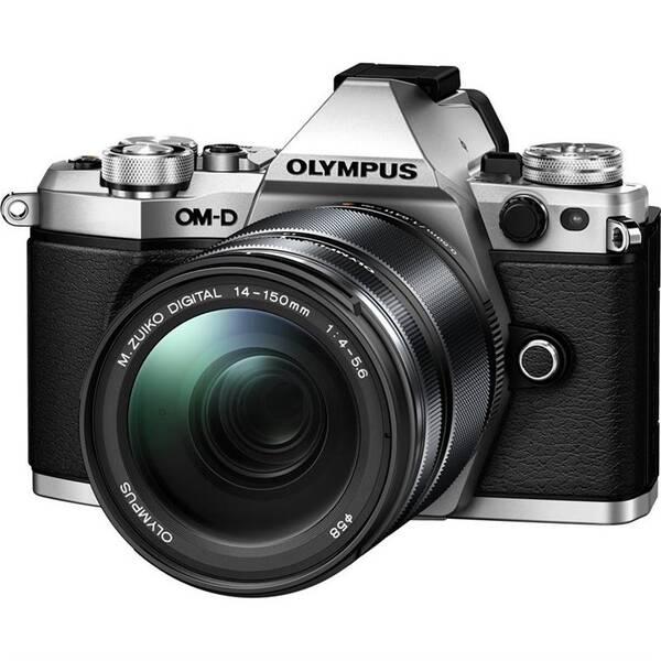 Digitální fotoaparát Olympus E-M5 Mark II 14-150 kit černý/stříbrný