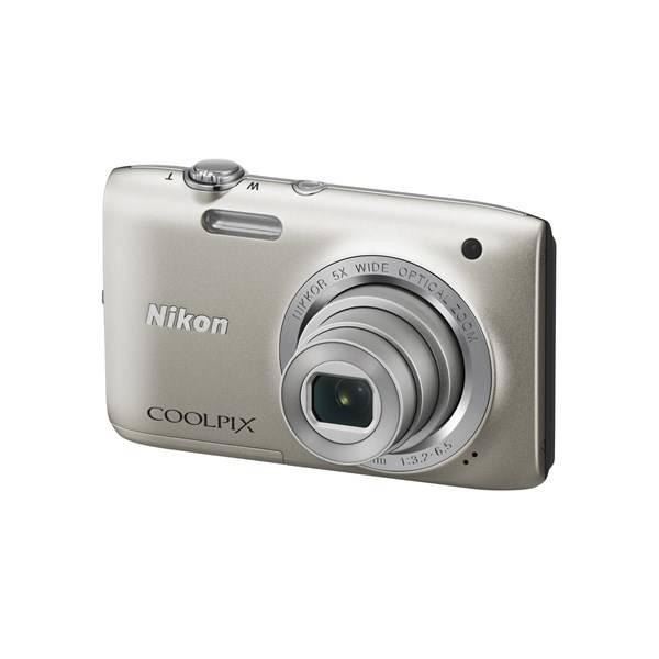 Digitální fotoaparát Nikon Coolpix S2800 stříbrný
