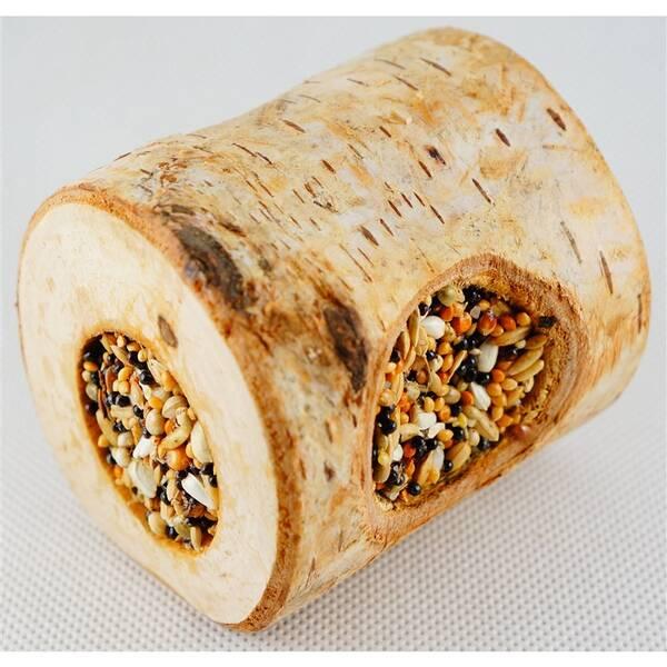 Krmivo Ham Stake drevený tunel so semienkami 8 cm