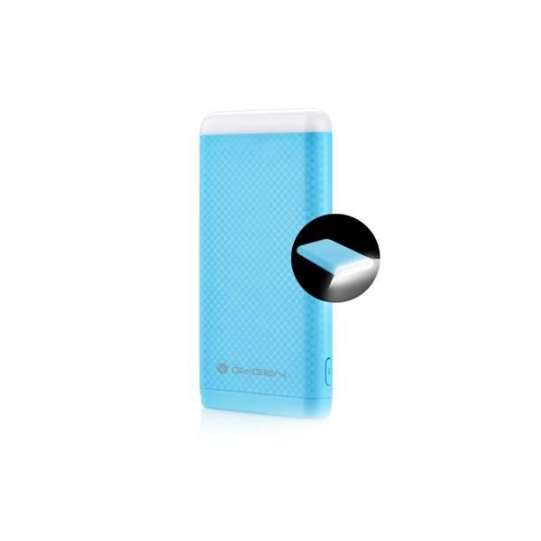 Powerbank GoGEN 8000mAh, svítilna (GOGPBL80004BL) modrá