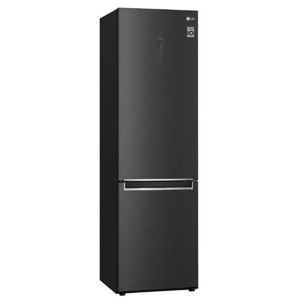 Kombinácia chladničky s mrazničkou LG GBB72MCQCN čierna