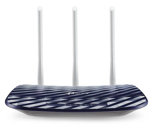 Router TP-Link Archer C20 V4 + IP TV na 1 měsíc ZDARMA (Archer C20) modrý