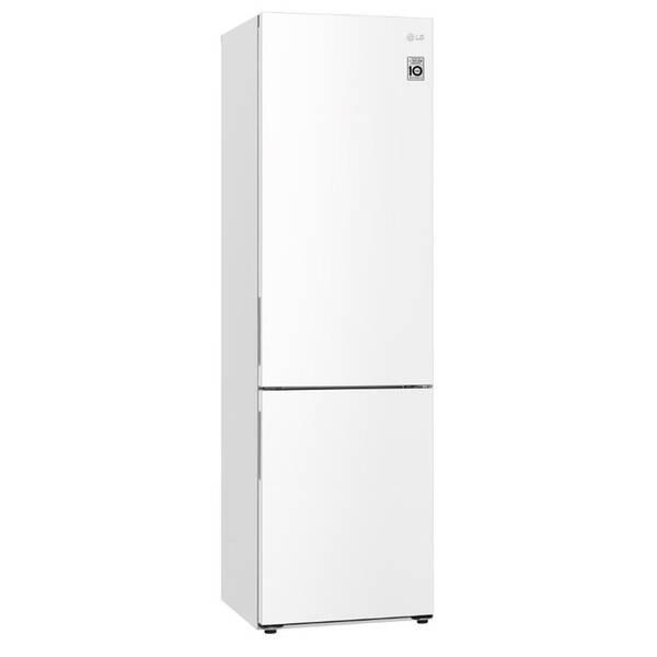 Kombinácia chladničky s mrazničkou LG GBB62SWGCC biela