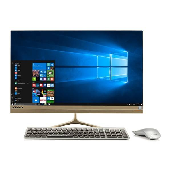 Počítač All In One Lenovo IdeaCentre AIO 520S-23IKU Touch (F0CU0014CK) zlatý