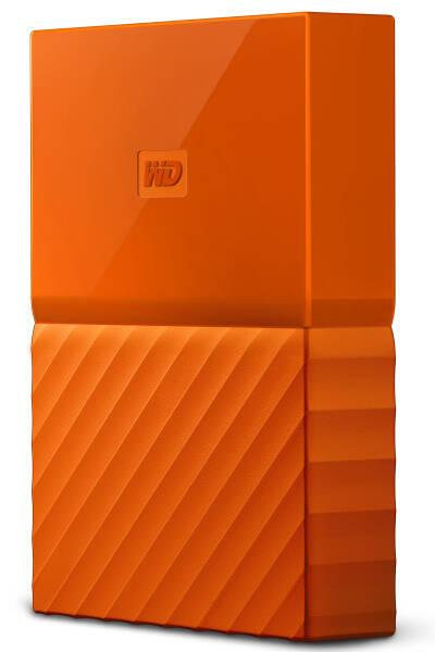 Externý pevný disk Western Digital My Passport 2TB, USB 3.0 (WDBS4B0020BOR-WESN) oranžový