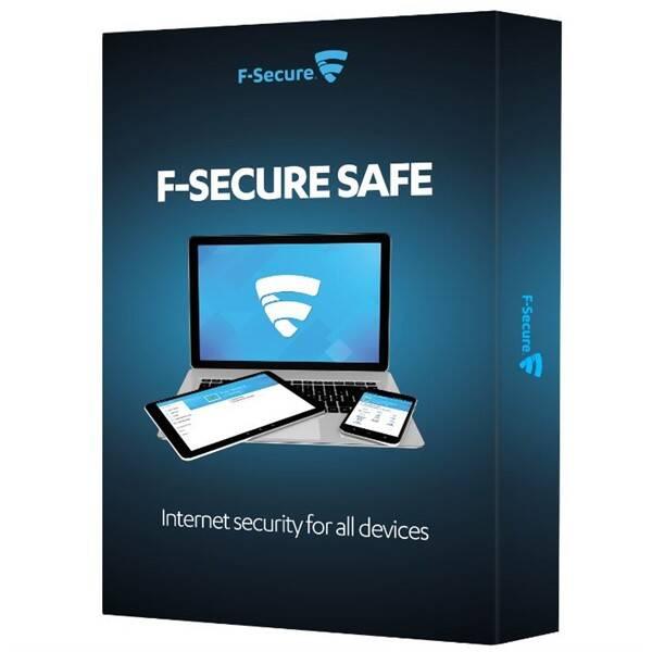 Software F-Secure SAFE, 3 zařízení / 1 rok (FCFXBR1N003G2)