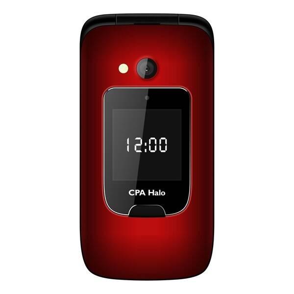 Mobilní telefon CPA Halo 15 Senior (TELMY1015RE) červený (vrácené zboží 8800192706)