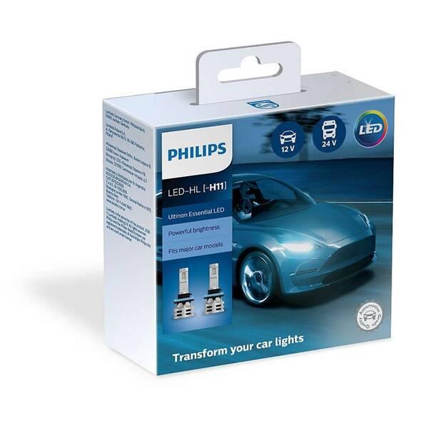 Autožiarovka Philips LED H11 Ultinon Essential 2 ks (11362UE2X2)