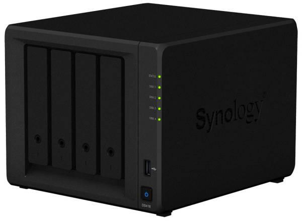 Datové uložiště (NAS) Synology DS418 (DS418) černé