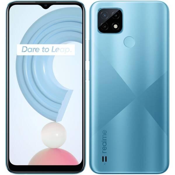 Mobilní telefon realme C21 3/32 GB (RMX3201BL3) modrý