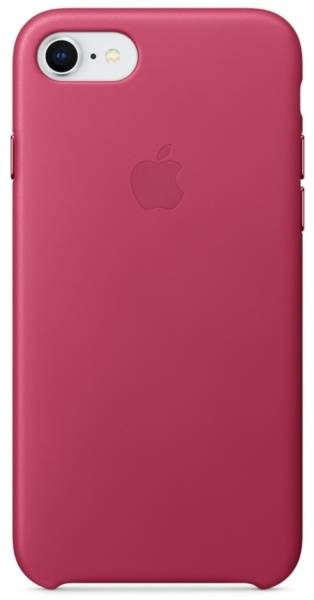 Kryt na mobil Apple Leather Case pro iPhone 8/7 - fuchsiový (MQHG2ZM/A)