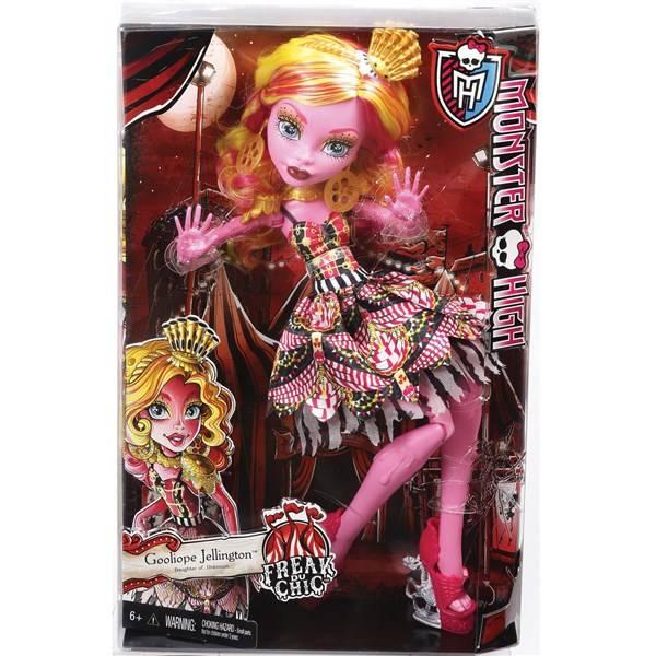 Panenka Mattel Monster High velká Gooliope