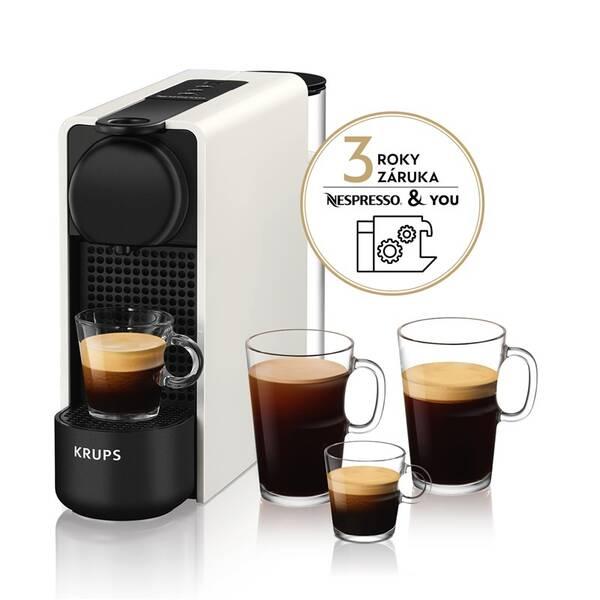 Espresso Krups Nespresso Essenza Plus XN510110 bílé (Vystaveno na prodejně 8800572697)