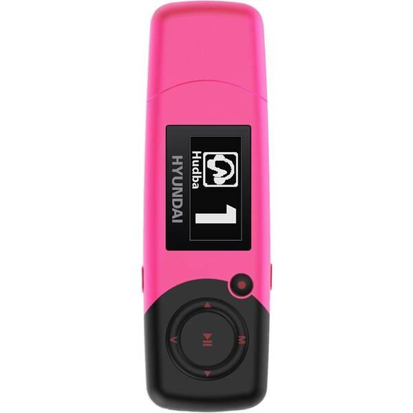 MP3 prehrávač Hyundai MP 366 GB4 FM P ružový