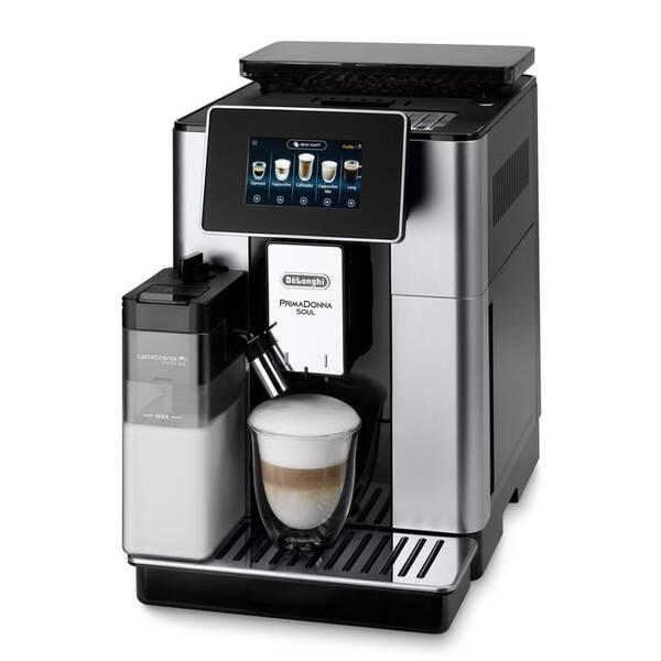 Espresso DeLonghi ECAM 610.55 SB čierne/strieborné