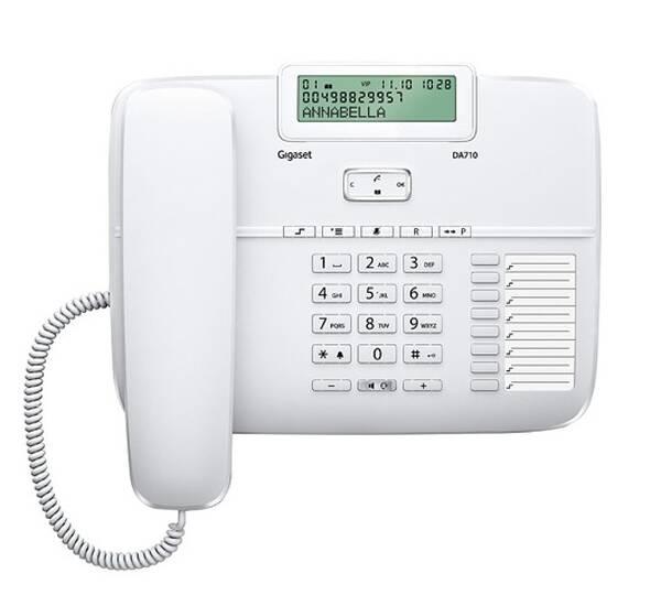 Domácí telefon Siemens Gigaset DA710 (S30350-S213-R602) bílý