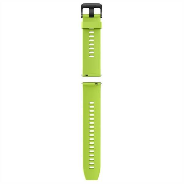 Řemínek Huawei silikonový pro chytré hodinky Huawei Watch GT, Watch GT 2 - Fluorescent Green (02232UGA) zelený