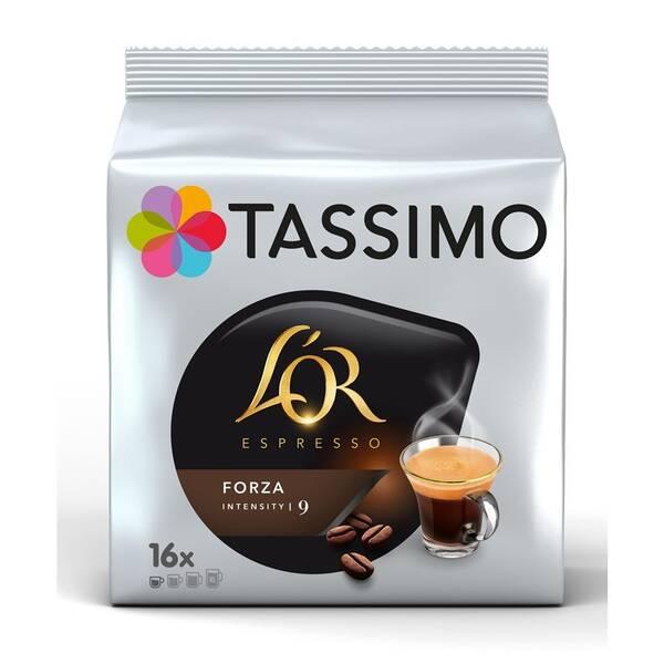 Kapsle pro espressa Tassimo L'or Forza