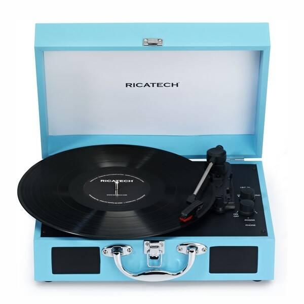 Gramofon Ricatech RTT21 Advanced (659055) modrý