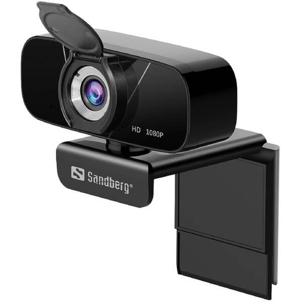 Webkamera Sandberg Webcam Chat 1080p (134-15) čierna