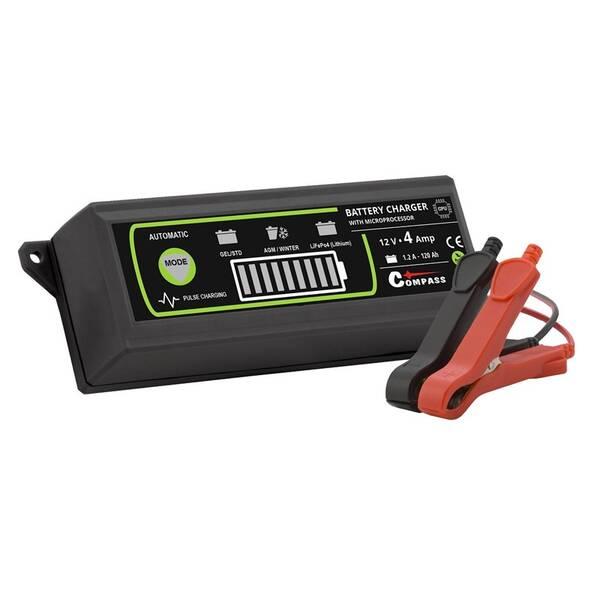 Nabíjačka autobatérií Compass 12V, 120 Ah 07145