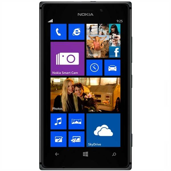 Mobilní telefon Nokia Lumia 925 (A00013648) černý