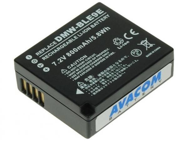 Batéria Avacom Panasonic DMW-BLE9/BLG-10 Li-Ion 7.2V 800mAh (DIPA-BLE9-532)