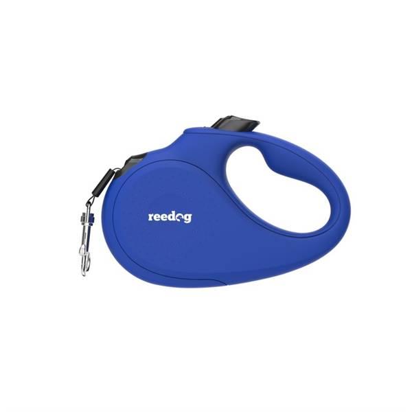 Vodítko Reedog Senza Basic M 25 kg modrá farba