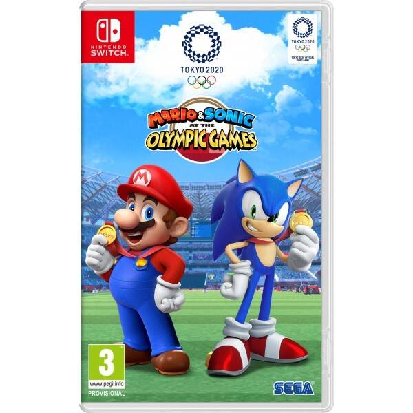 Hra Nintendo SWITCH Mario & Sonic at the Tokyo Olympic Games 2020 (NSS433)