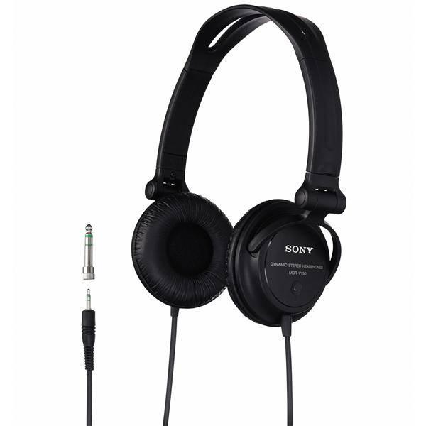 Sluchátka Sony MDRV150.CE7 (MDRV150.CE7) černá